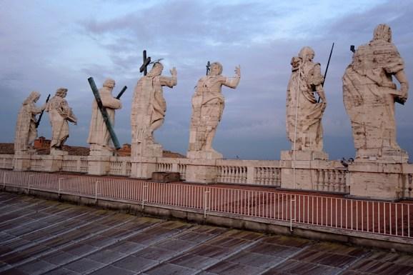 Rzym_na dachu Bazyliki św. Piotra w Watykanie 005