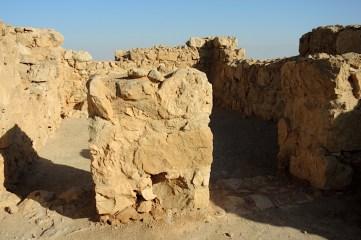 Izrael-zwiedzanie twierdzy Masada 014