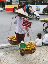 Wietnam jedzenie na ulicach Hanoi-004