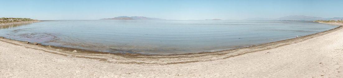 Stany Zjednoczone Wielkie Jezioro Słone atrakcje w okolicy Salt Lake City stan Utah 02