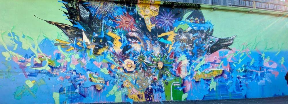 street art atrakcje zwiedzanie co warto zobaczyć w Miami dzielnica graffiti murale w Wynwood 002