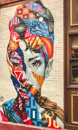 zwiedzamy Nowy Jork street art NYC 008