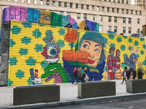 zwiedzamy Nowy Jork street art NYC 016