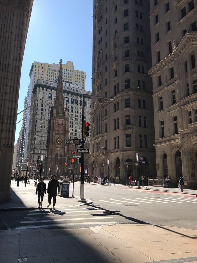 048 Nowy Jork Dolny Manhattan ulica Broadway