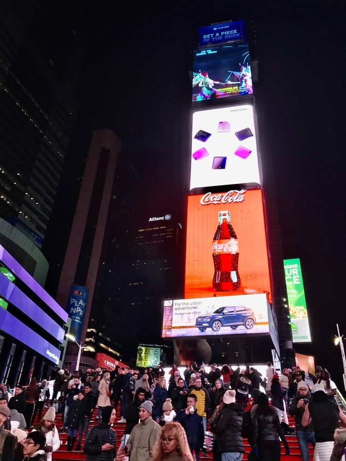 123 Nowy Jork -Times Square