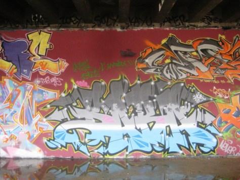 BABA JAM - graffiti - Besancon - nov 2012 Baba