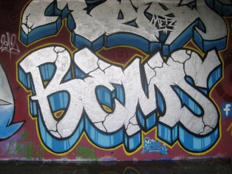 BABA JAM - graffiti - Besancon - nov 2012 Bems