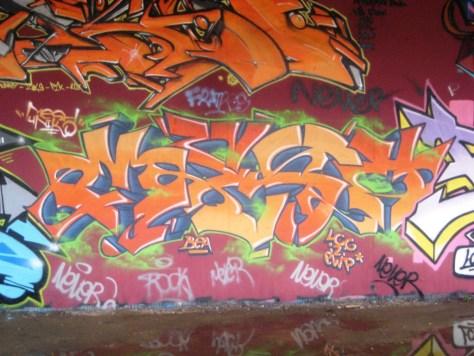 BABA JAM - graffiti - Besancon - nov 2012 Mesh