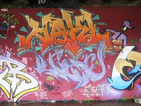 BABA JAM - graffiti - Besancon - nov 2012 - Nakl