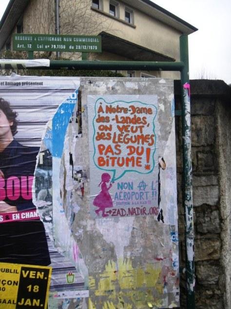 03.01.13 affiche soutien ZAD -  Besancon - des legumes pas du bitume