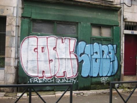 graffiti - besancon janvier 2013 - Cash, Stane
