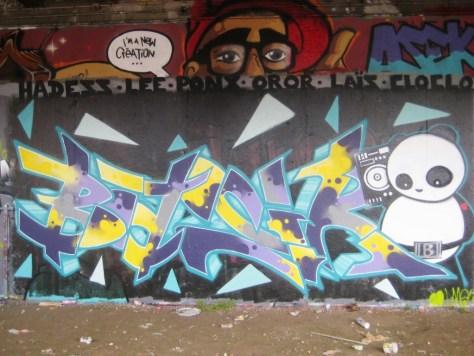 besancon - graffiti - mars 2013 - Basik