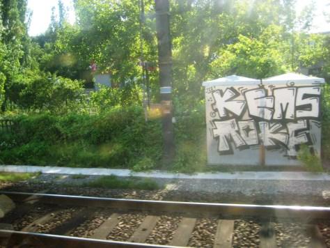 Kems, Moke - graffiti - alsace - 2013