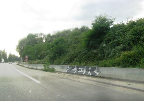 ZER - graffiti, mulhouse - Aout 2013