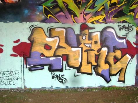 graffiti - besancon, arenes, aout 2013 (1)