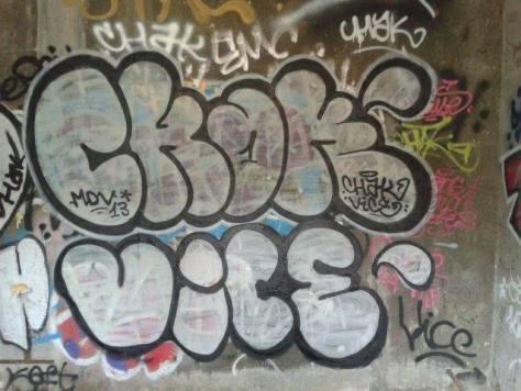 chak vice arenes graffiti besak2013