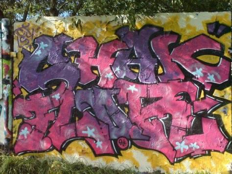 chak, flor - graffiti - belfort