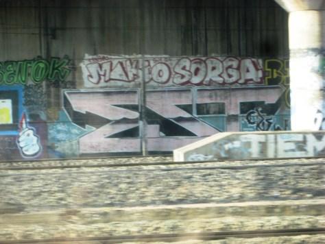 strasbourg 02.03.14-graffiti - Benok, Makio; Sorga, Est