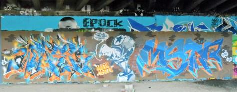 Wask, Mstr - Graffiti - Besancon - mai 2014 (1)