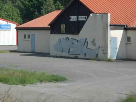 WSK - graffiti - Bitche - juin 2012