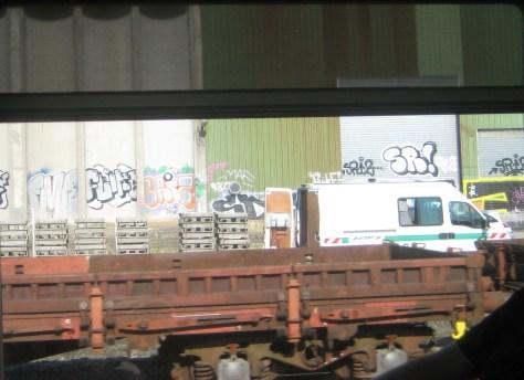 FMR, Flicke, Sriz,SR - graffiti - Alsace - 2013