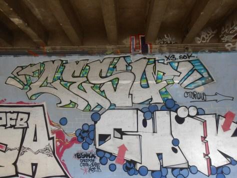 besancon - juin.2014 - Cesu, Chek - graffiti (2)
