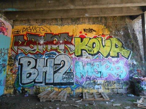 besancon graffiti avril 2015 Ramor, BH2, KovR, Mars (1)