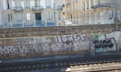 7 Click, Krevet, Na Crew, Pilon, Heast, Sice - graffiti - nancy 2015