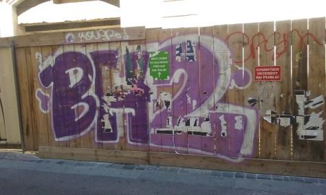 BH2 - graffiti besancon 2015