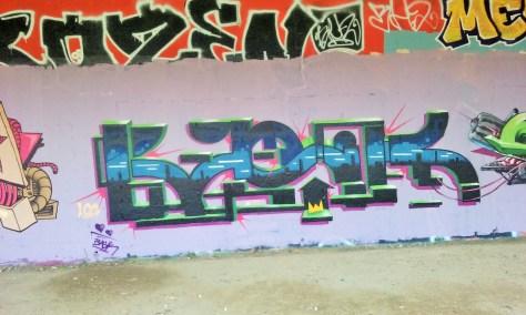 Besancon - Maestro, Soya, Basik, Eskat - graffiti 2015 (4)