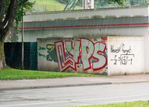 LYPS graffiti wuppertal sept 2015