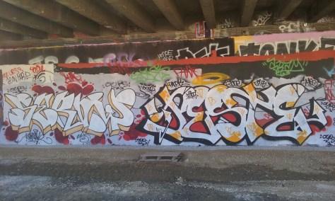 Seroner, Jester graffiti besancon 2015 (2)