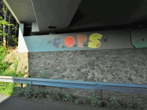 COPS - graffiti - allemagne 2015