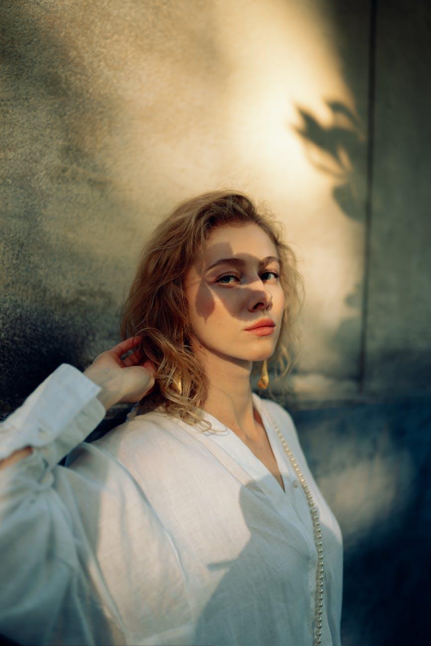 fashion people woman art