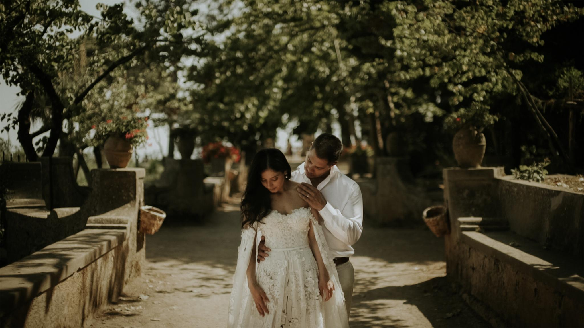 amalfi coast wedding videographer