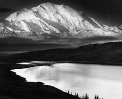 Mt. McKinley and Wonder Lake