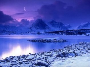 Cold Mountain Lake, Norway