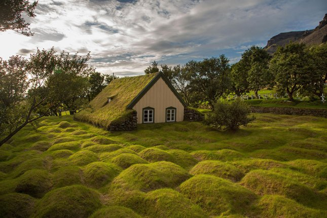 Peat Church, Iceland