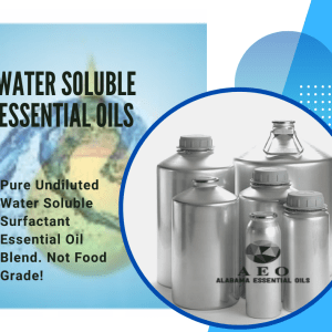 WATER SOLUBLE ESSENTIAL OILS