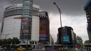 Ximending - The Building here is dedicated for karaoke only.