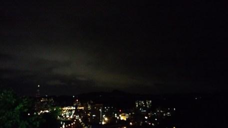 Night view of Taipei from my dormitory