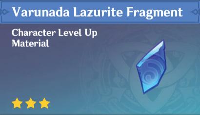 Varunada Lazurite fragment
