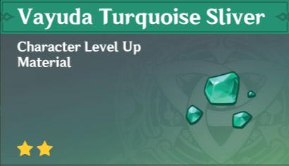 Vayuda Turquoise Sliver