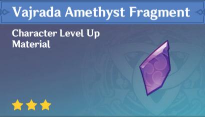 vajrada amethyst fragment