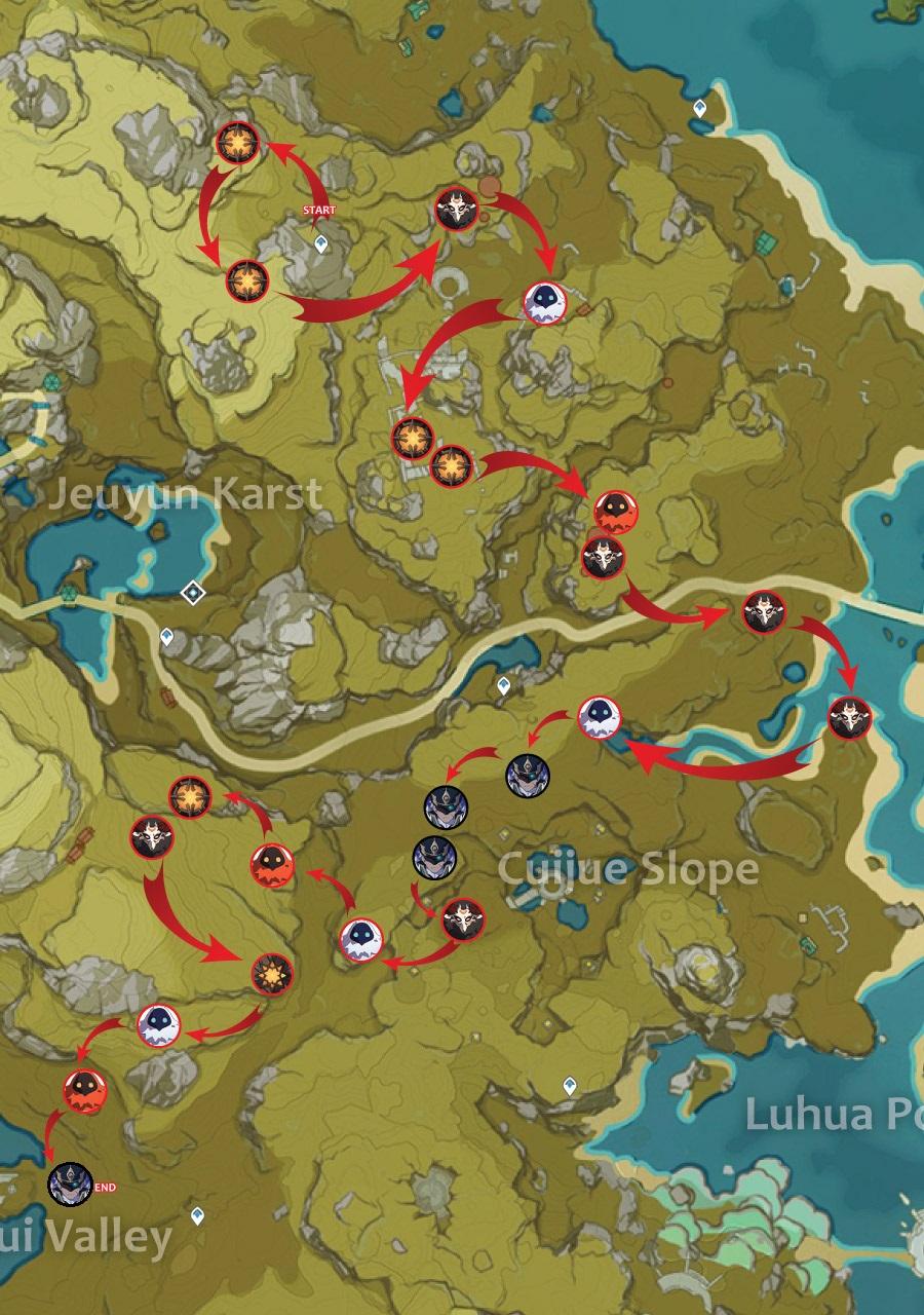 farming route 1