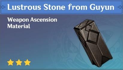 Lustrous Stone from Guyun