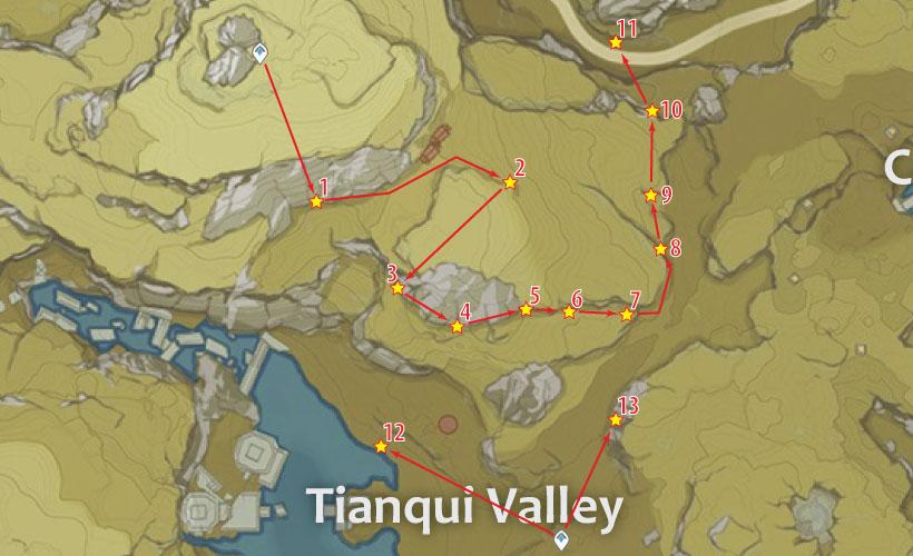 tianqui valley cor lapis location