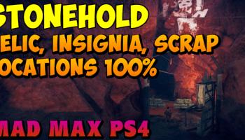 Mad Max – Finger Peak Relic, Insignia, and Scrap Parts