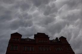 Crazy sky in Salisbury