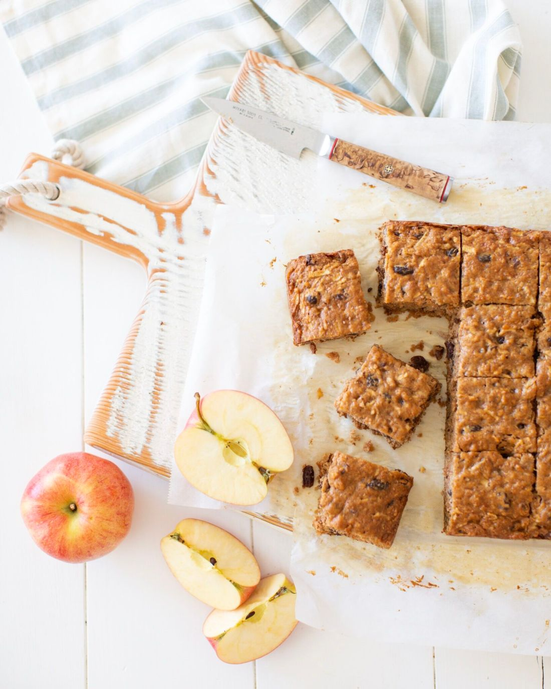 Okanagan Apple Cake: moist and filled with warm spice